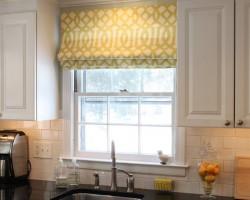 Rèm Roman phòng bếp mang phong thủy tài lộc mã RM 822