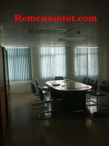 Công trình rèm lá dọc văn phòng tại tòa nhà Eurowindow, Trung Hòa, Cầu Giấy, Hà Nội 1