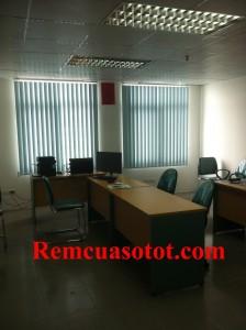 Công trình rèm lá dọc văn phòng tại tòa nhà Eurowindow, Trung Hòa, Cầu Giấy, Hà Nội 3