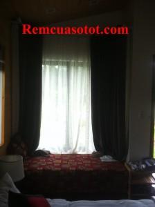 Công trình thi công rèm vải cao cấp cho khu biệt thự nghỉ dưỡng Đại Lải Resort 1