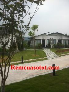 Công trình thi công rèm vải cao cấp cho khu biệt thự nghỉ dưỡng Đại Lải Resort 3