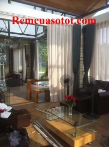 Công trình thi công rèm vải cao cấp cho khu biệt thự nghỉ dưỡng Đại Lải Resort 5