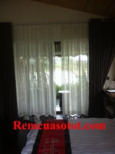 Công trình thi công rèm vải cao cấp cho khu biệt thự nghỉ dưỡng Đại Lải Resort 6