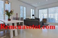 Màn sáo nhôm trang trí nội thất phòng khách tại Hà Nội mã RSN 113