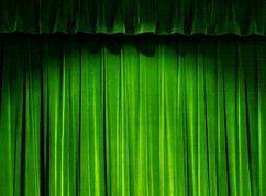 Mẫu phông hội trường, rèm sân khấu đẹp mã PHT 112