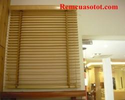 Rèm gỗ cửa sổ bằng gỗ tự nhiên cao cấp giá rẻ mã RG 118