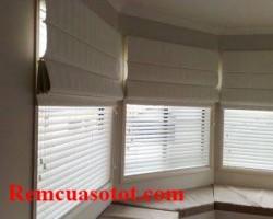 Rèm Roman 2 lớp, rèm Roman giá rẻ cho cửa sổ mã RM 835