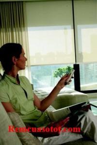Rèm tự động, rèm cuốn tự động điều khiển từ xa mã RTD 113