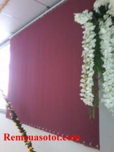 Thi công rèm lá dọc nhà xưởng, nhà ăn KCN Võ Quế I, Bắc Ninh 1