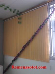 Thi công rèm lá dọc nhà xưởng, nhà ăn KCN Võ Quế I, Bắc Ninh 5