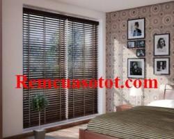 Mành gỗ đẳng cấp cao sang cho phòng ngủ thanh bình mã RG 128
