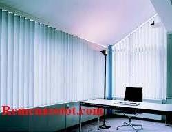 Rèm lật xanh da trời quyến rũ mạnh mẽ giới văn phòng mã RLD 127
