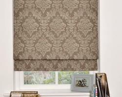 Rèm Roman cho cửa sổ nhỏ gọn gàng thanh lịch mã RM 852