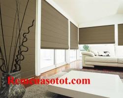 Rèm Romance phù hợp cho phòng khách nhiều cửa kính mã RM 853