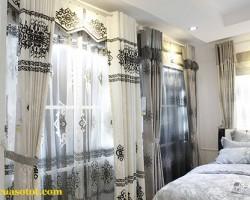 Rèm vải cao cấp cho phòng ngủ mã RV 864