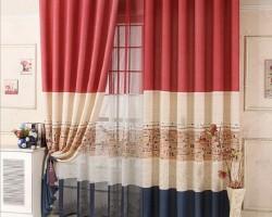 Rèm vải phòng khách đẹp giá rẻ mã RV815