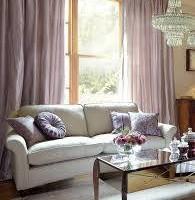 Rèm vải cho phòng khách kiểu chiết ly đẹp giá tốt mã RV 828