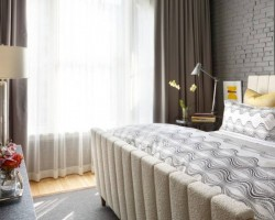 Rèm vải phòng ngủ 2 lớp đẹp giá rẻ mã RV 829