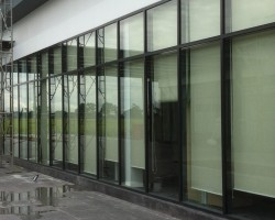Công trình rèm cuốn khu thương mại tòa nhà Cầu Giấy, Hà Nội