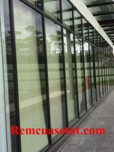 Công trình rèm cuốn khu thương mại tòa nhà Cầu Giấy, Hà Nội 2