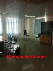 Công trình rèm lá dọc văn phòng tại tòa nhà Eurowindow, Trung Hòa, Cầu Giấy, Hà Nội 2