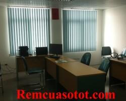 Công trình rèm lá dọc văn phòng tại tòa nhà Eurowindow, Trung Hòa, Cầu Giấy, Hà Nội