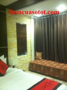 Công trình thi công rèm vải cao cấp cho khu biệt thự nghỉ dưỡng Đại Lải Resort 2