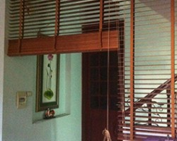 Làm rèm gỗ gia đình chị Thanh, Long Biên, Hà Nội