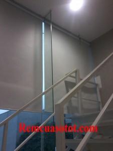 Lắp đặt rèm cuốn văn phòng tại tòa nhà IPH, Xuân Thủy, Cầu Giấy, Hà Nội 4
