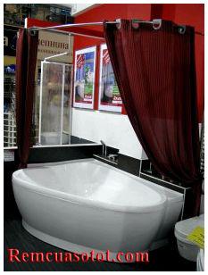 Rèm cửa nhà tắm, rèm phòng tắm Hà Nội mã RPT 4