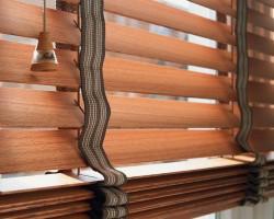 Rèm cửa sổ bằng gỗ đẹp tại Hà Nội mã RG 119