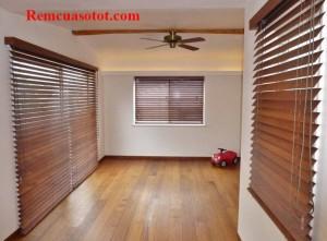 Rèm cửa sổ bằng gỗ tự nhiên đẹp giá rẻ mã RG 117