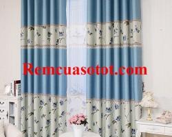 Rèm Ô rê, rèm vải cửa sổ đẹp cho căn hộ, biệt thự mã RV 841