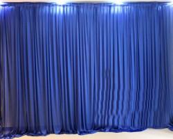 Rèm phông màu xanh bích cho hội trường, đám cưới, liên hoan mã PHT 106