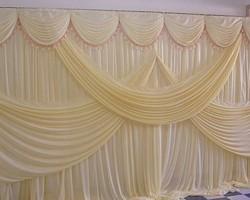 Rèm phông sân khấu đẹp lung linh cho đám cưới, sân khấu mã PHT 108