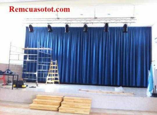 Rèm sân khấu, phông màn hội trường giá rẻ mã PHT 114