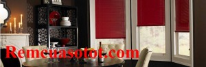 Rèm sáo nhôm cửa sổ màu đỏ quyến rũ và quyền lực mã RSN 112