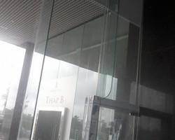 Thi công rèm cuốn sảnh chính tại tòa nhà Mỹ Đình I, Từ Liêm, Hà Nội