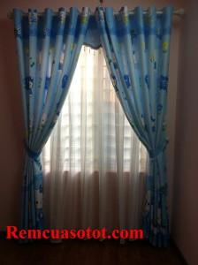 Thi công rèm gia đình cho chung cư thu nhập thấp Hà Đông, Hà Nội 3
