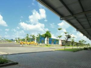 Thi công rèm lá dọc nhà xưởng, nhà ăn KCN Võ Quế I, Bắc Ninh 3