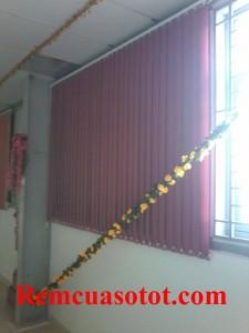Thi công rèm lá dọc nhà xưởng, nhà ăn KCN Võ Quế I, Bắc Ninh 4