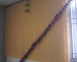 Thi công rèm lá dọc nhà xưởng, nhà ăn KCN Võ Quế I, Bắc Ninh
