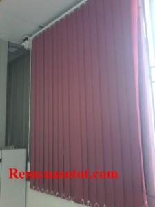 Thi công rèm lá dọc nhà xưởng, nhà ăn KCN Võ Quế I, Bắc Ninh 6