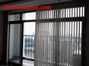 Thi công rèm lá dọc văn phòng số 6 Nguyễn Công Hoan, Ba Đình, Hà Nội 3
