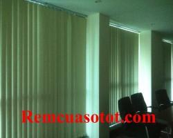 Thi công rèm lá dọc văn phòng tầng 18, tòa 24T, tòa nhà Hapulico, quận Thanh Xuân, Tp Hà Nội