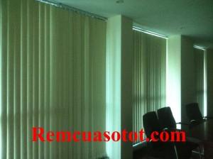 Thi công rèm lá dọc văn phòng tầng 18, tòa 24T, tòa nhà Hapulico, quận Thanh Xuân, Tp Hà Nội 1