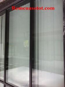 Thi công rèm lá dọc văn phòng tòa nhà Hà Đô Parkin, Cầu Giấy, Hà Nội 1