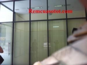 Thi công rèm lá dọc văn phòng tòa nhà Hà Đô Parkin, Cầu Giấy, Hà Nội 2