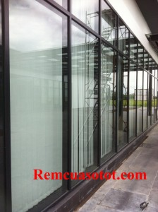 Thi công rèm lá dọc văn phòng tòa nhà Hà Đô Parkin, Cầu Giấy, Hà Nội 3
