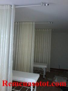 Thi công rèm vải cho khu Spa ở Dương Quảng Hàm, Cầu Giấy, Hà Nội 1